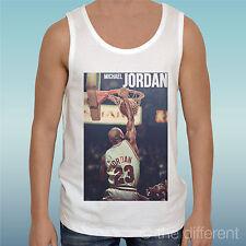 "Camiseta de Tirantes ""Michael Jordan Toros Baloncesto Deporte"" Idea Regalo"