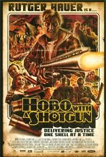 PROMO POSTCARD - RUTGER HAUER IS A - HOBO WITH A SHOTGUN