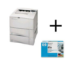 C8052A HP LASERJET 4100DTN S/W LASERDRUCKER DRCKER NETZWERK DUPLEX PARALLEL A4