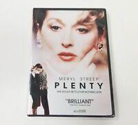 Plenty DVD (2010) Meryl Streep, Charles Dance, Tracey Ullman, Factory Sealed