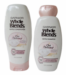 2 Garnier Whole Blends Gentle Shampoo & Conditioner Oat Delicacy, 12.5 oz Each