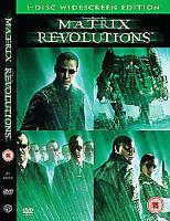 Matrix Revolutions (DVD, 2004)
