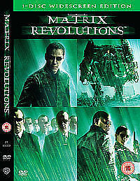 The Matrix Revolutions DVD 2003