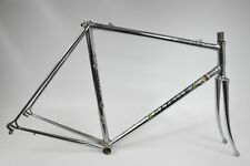 Gazelle champion mondial vélo de course acier-cadre, chromé, reynolds 531 (89)