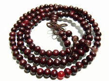 6mm Tibet Buddhism 108 Red Sandalwood Prayer Bead Mala