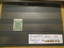 Bund/BRD, 1951, Posthorn, MiNr 128 ** postfrisch