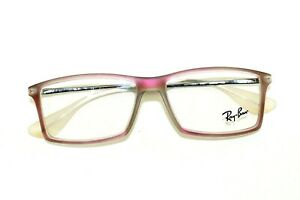 NEW RAY BAN RB7021 5497 MATTHEW IRIDESCENT RED AUTHENTIC EYEGLASSES RX7021 52 MM