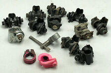 Large Lot Vintage Bicycle Bike Seat Clamps Bike Misc Parts Lot #11