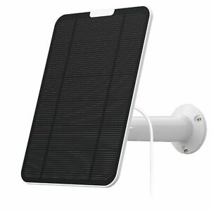 4w Solar Panel for eufyCam eufy Cam 2/2C/2C Pro/E/2 Pro Mount 13ft Power Cable