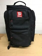 Wilson Rolling Duffle Travel Bag With Shoe Pockets-7 Compartment-Rolls Great