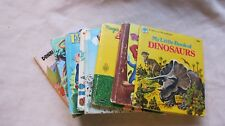 Lot of 7 Old Vintage Tell-A-Tales Books & a Disney Pop-Up Book 1950's - 70's  GC