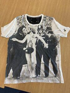 ELVIS JESUS mens XL extra Large T-shirt - Good Condition - NO RESERVE!