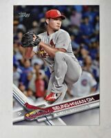 2017 Topps #505 Seung-Hwan Oh - NM-MT