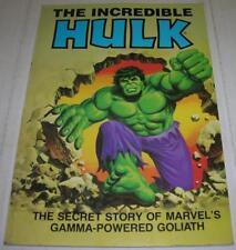 INCREDIBLE HULK THE SECRET STORY (Ideals / Marvel 1981) Jack Kirby (FN-) RARE