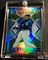 1995 KEN GRIFFEY JR TOPPS FINEST REFRACTOR #118 MARINERS SHARP (753)