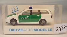 Rietze 1/87 50971 Ford Focus Turnier Kombi Polizei OVP #2327