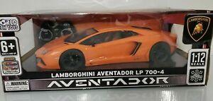 Lamborghini Aventador LP 700-4 1:12 Electric RC Car Orange new