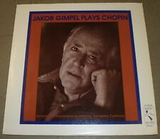 Jakob Gimpel Plays Chopin~1981 Pelican~Piano Solo Classical VG++ LP~FAST SHIP!