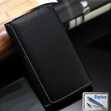 Wallet Money Card Leather Cover Case for Telstra HP Elite X3 + Stylus