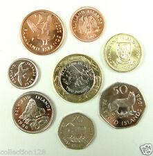 Falkland Islands coins set of 8 pieces AU-UNC