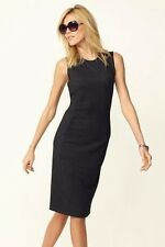 Next Black Panelled Bodycon Dress 16Tall