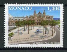 Monaco Architecture Stamps 2020 MNH New Place du Casino Buildings Trees 1v Set
