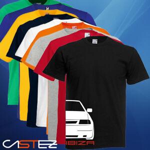 Camiseta coche racing rally ibiza 6k cupra gti basado seat ENVIO 24/48h