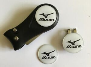 Golf Switchblade Pitchfork Magnetic Hat Clip With 3 Mizuno Markers