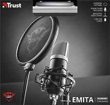 TRUST 21753 GXT 252 emita alta qualità del microfono streaming Studio Professionale