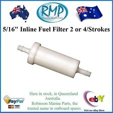 """A Brand New Inline Fuel Filter 5/16"""" Yamaha 2 or 4-stroke  # 35-816296-1"""