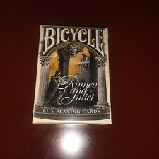 Bicycle Romeo & Juliet Rare Limited Edition Custom Playing Cards Collectable ^