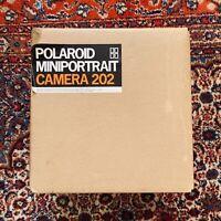 Vintage POLAROID MINIPORTRAIT Model 202 Camera NOS New Open Box