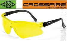 Crossfire Viper Yellow Lens Safety Glasses Sunglasses Shooting Night Driving Z87