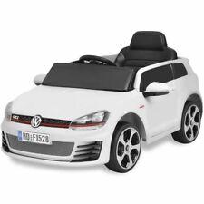vidaXL Elektrische Auto met Afstandsbediening VW Golf GTI 7 12 V Wit Speelauto