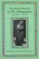 Selected Journals of L.m. Montgomery, Volume Iv:1929-1935, Paperback by Rubio...