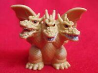 "KING GHIDORAH /BANDAI SOFUBI PVC Mini Finger SD Figure H1.4"" 3.5cm GODZILLA"