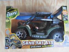 ULTRA CORPS Sand Rat ATV Operation:Sand Storm With Guns Lights&Sound Lanard new