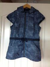 LULULEMON Spring Fling Puffy Vest. Sashiko Cross Inkwell. Size 6