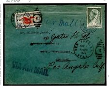 Z169 Curacao 1940 Forwarded Foreign Air Mail Cover 1940 {samwells-covers}