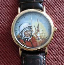 Wrist Quartz Mens Watch Gagarin USSR from 1924 Moscow watch Plant SLAVA 1049543