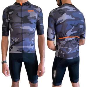 Mens Cycling Jersey Summer Short Sleeve Bike Jersey MTB Bicycle Cycling Shirt