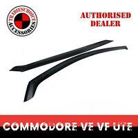 Weathershields Weather Shields Window Visors for Holden Commodore VE VF ute 2pcs