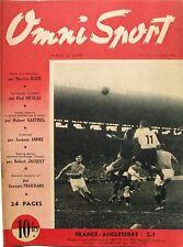 Omni Sport n°12 - 1946 - Foot France Angleterre - Cerdan Charron - Rowing Marne