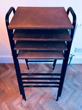 Vintage Retro Industrial School Stacking Science Lab Cafe Bar Kitchen Stools
