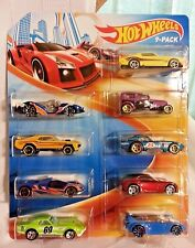 NEW IN PACKAGE 2015 Hot Wheels 9-Pack w/ Exclusive Cars!!! shelby corvette....