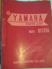 1974 Yamaha DT175 A : Factory Parts List