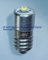 Cree Universal Polarity LED 5W MES E10 Screw Bulb for 6.0V PETZL 4-Cell Headlamp