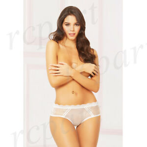 New women's lace panty sexy lingerie intimates gift S M L XL White 10899