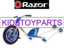 Razor White Rip Rider Rear Wheels - 2 pack