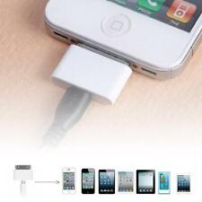 Female Micro USB To Male for Apple 30 Pin iPhone4 4S 3G 3GS Charger Adapter #SY